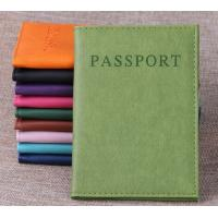 PU Travel Passport Holder