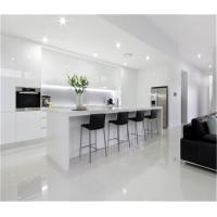 Buy cheap professional kitchen cabinet design with uv high gloss finish from wholesalers