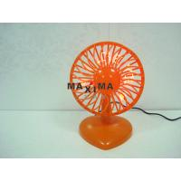 Wholesale Portable Cooling Mini 7 Red LED USB Powered Desk Fans with Message I Love You from china suppliers