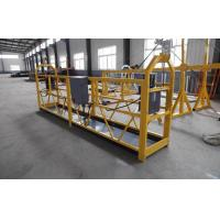 Wholesale Mast Climbing Suspended Working Platform / mobile elevated work platform from china suppliers