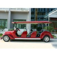 Wholesale Hotel Shuttle Classic Golf Cars , Street Legal Electric Vehicles 48V Battery Voltage from china suppliers