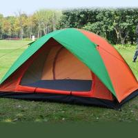 Quality camping tent -- two layers (two skin)with  waterproof  2000mm +UPF 30+  polyester for sale