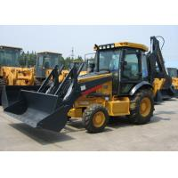 Wholesale 0.8 - 1.2m3 Bucket Capacity Tractor Backhoe Loader , Deutz Diesel Engine Construction Heavy Machinery from china suppliers