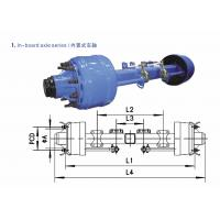 Wholesale American Type axles In–board Axle 8T-20T from china suppliers