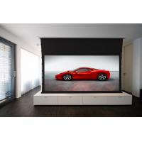 "Wholesale Motorized Tab Tensioned Projector Screen 100"" / Home Cinema Screen from china suppliers"