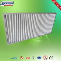 Wholesale High Air Flow Pleated Panel Air Filters Industrial Air Purifier With Washable Filter from china suppliers