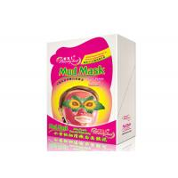 Wholesale Juicy Peach Whitening Facial Mud Mask Smooth Anti - Wrinkle Mud Facial Masks For Adult from china suppliers