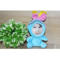 "Wholesale Customized 4"" Photo Mask toys Stuffed Plush 3D Face Doll gift Boutique from china suppliers"