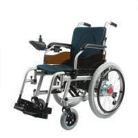 Wholesale Foldable Aluminum Frame Portable Motorized Wheelchair , 20Ah Lithium Battery from china suppliers