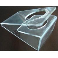 Wholesale Scratch resistance Acrylic Display Holders , 3mm Clear acrylic dryer holder from china suppliers