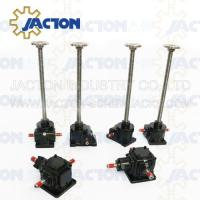 Wholesale 1 Ton Acme Screw Jack Lifting Screw Diameter 24MM Lead 5MM Gear Ratio 5:1, 10:1 and 20:1 from china suppliers