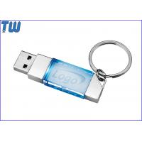 Buy cheap Slim Delicate 2GB Pendrives Flash Stick Crystal Free Key Ring from wholesalers