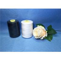 Wholesale 402 High Strength Raw White Polyester Sewing Thread For Weaving from china suppliers