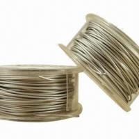 Wholesale 12/14/16 Gauge Stainless Steel Wire with 201, 301, 304, 310, 316 Grades and Excellent Straightness from china suppliers