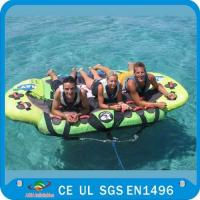 Wholesale Inflatable Water Ski Tubes , Towable Inflatables PVC Tube Boat CE Certificated from china suppliers
