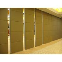 Wholesale Folding Sliding Door Movable Sound Proof Partitions For Office with Aluminium Track from china suppliers