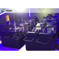 Wholesale SGS Certification 5D Cinema Movies Theater 3 Seat Black Motion Chairs Genuine Leather from china suppliers