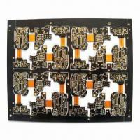 Wholesale Eight Layers Rigid-flex PCB with ENIG Surface Finish from china suppliers