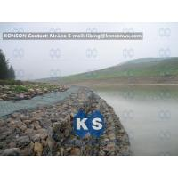 Wholesale Galvanized Wire Stone Gabion Basket For River Crossing / Marinas / Seashore Protection from china suppliers