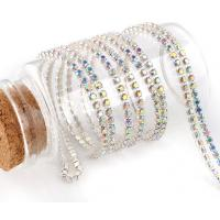 Wholesale strass close cup chains rhinestone crystal ab color from china suppliers