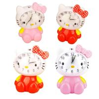 Quality Hello Kitty design voice alarm clock for sale