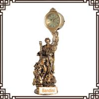 Wholesale Antique European standing Clock Classic Decoration Clock promotion gifts clock 222BBK from china suppliers