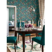 Wholesale Strippable Room Decorating Wallpaper Floral Design PVC Wallcovering Professional Supplier from china suppliers