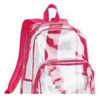 Wholesale Hot-selling Fashionable Transparent backpack Travel Backpack PVC clear backpack from china suppliers