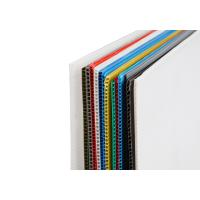 Wholesale Durable Color PP Corrugated Sheet , Strong Outdoor Corrugated Plastic Board from china suppliers