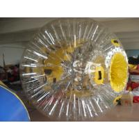 Wholesale Clear Colorful Shining Inflatable Zorb Ball Walk On Water Ball By Sea from china suppliers