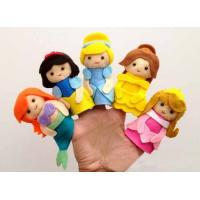 Wholesale Lovely Cartoon Disney Princess Felt Finger Puppets For Promotion Gifts And Premium from china suppliers