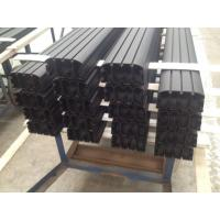 Wholesale Sand Blasted Black Powder Coating Aluminum Industrial Profile for Auto Aluminum Profile from china suppliers
