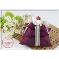 Wholesale 7*7cm Linen Fragrance Artificial Flower Scented Pouches Pillow from china suppliers