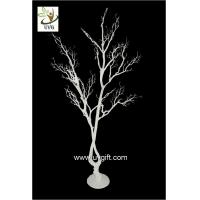 Wholesale UVG white artificial twig tree with PE plastic branches for wedding decoration ideas DTR28 from china suppliers