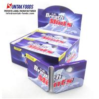 Wholesale Healthy Green Mint Candy , Low Sugar Triangle Shaped Candy Zero Calorie from china suppliers