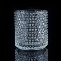 Wholesale Clear Nail glass candle holders for wedding , glass flower candle holder from china suppliers