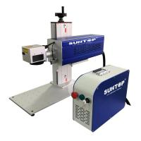 Wholesale Portable 60w Cnc Laser Marking Machine Jeans Wood Leather Support Beautiful from china suppliers