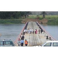 Wholesale Reusable Floating Pontoon Bridge Inconvenient Traffic For Rivers from china suppliers
