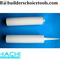 Wholesale economy good quality 270ml empty plastic silicone sealant cartridge from china suppliers