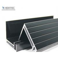 Wholesale 6063 T5 / T6 Aluminum Solar Panel Frame With Screw Joint / Corner Key Joint from china suppliers