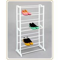 Wholesale Vertical  Small Metal Shoes Rack Commodity Shelf for Shoe Storage , Mobile and Portable from china suppliers