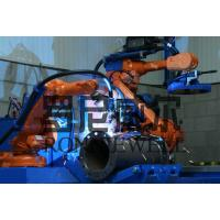Wholesale Pipe Prefabrication Robot Welding Machine With ABB / OTC Robot Body from china suppliers