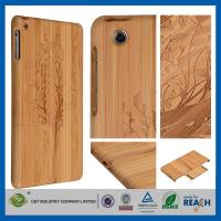 Wholesale Cherry Christmas Tree Natural Bamboo Wood Cell Phone Cases Skin For Ipad Air Mini Retina from china suppliers