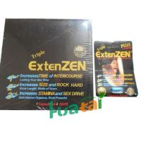 Wholesale Sex Timing Capsule , Herbal Sex Male Enhancement Triple Extenzen Pills 24 capsules / box from china suppliers