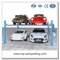 Wholesale On Sale! Four Post Parking System Four Post Hydraulic Car Parking Lift Doulbe Stacker Lift from china suppliers