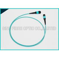Wholesale 100 Gbps Protocol 24F MPO MTP Mating Fiber Optical Multimode MM OM3 Trunk Cable from china suppliers