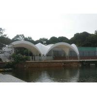 Wholesale Steel Frame Arch Tents Fabric Membrane Structures For Outside Dinning from china suppliers