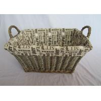 Wholesale Folk Art Style and Willow Type tapered wicker storage basket from china suppliers