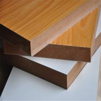 Buy cheap pvc coated slatwal laminatedl board mdf from wholesalers