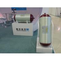 Type 2 Fiberglass Storage Tanks with 45L - 120L CNG Cylinder Capacity 340MM Steel Liner Dia